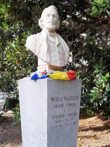 Bust Bălcescu - Palermo
